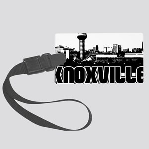 Knoxville Skyline Large Luggage Tag